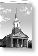 Chatham University Campbell Memorial Chapel Greeting Card by University Icons