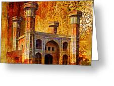 Chauburji Gate Greeting Card by Catf