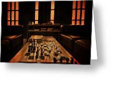 Checkmate Greeting Card by Evelina Kremsdorf