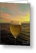Cheers Greeting Card by Cheryl Young