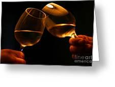 Cheers Greeting Card by Patricia Hofmeester