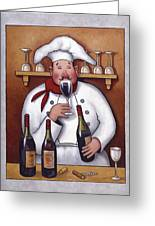 Chef 1 Greeting Card by John Zaccheo