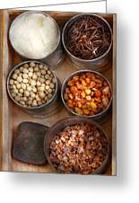 Chef - Food - Health Food Greeting Card by Mike Savad