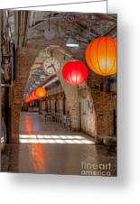 Chelsea Market I Greeting Card by Clarence Holmes