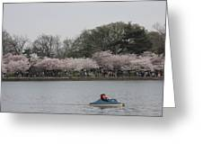 Cherry Blossoms - Washington Dc - 011314 Greeting Card by DC Photographer
