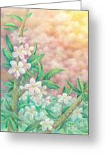 Cherryblossoms Greeting Card by Charity Goodwin