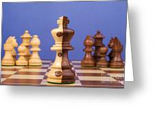Chess Corporate Merger Greeting Card by Colin and Linda McKie