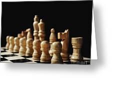 Chess Greeting Card by Jelena Jovanovic