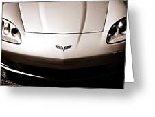 Chevrolet Corvette C6 Greeting Card by Phil 'motography' Clark