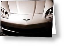 Chevrolet Corvette C6 Greeting Card by Phil 'motography' Clark