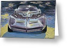 Chevrolet Corvette Greeting Card by Rimzil Galimzyanov