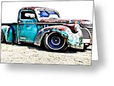 Chevrolet Pickup Greeting Card by Phil 'motography' Clark