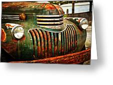 Chevy Truck Greeting Card by Marty Koch