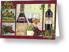 Chianti And Friends 2 Greeting Card by Debbie DeWitt