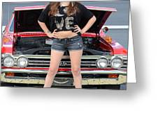 Chic Chevelle Greeting Card by Mark Spearman