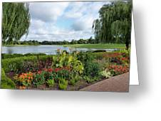 Chicago Botanical Gardens - 95 Greeting Card by Ely Arsha