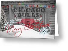 CHICAGO BULLS Greeting Card by Joe Hamilton