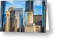 Chicago High Resolution Picture Greeting Card by Paul Velgos