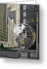 Chicago - Home Of Fine Art Greeting Card by Christine Till