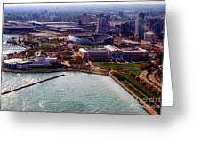 Chicago Museum Park Greeting Card by Thomas Woolworth