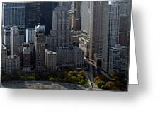 Chicago The Drake Greeting Card by Thomas Woolworth