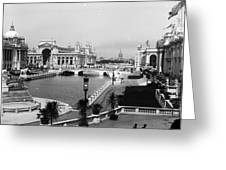Chicago Worlds Columbian Exposition 1893 Greeting Card by Historic Photos
