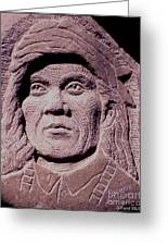 Chief-cochise-2 Greeting Card by Gordon Punt