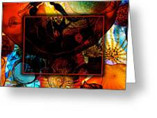 Chihuly Greeting Card by David Blank