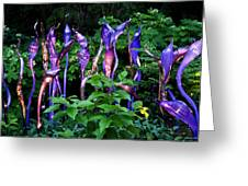 Chihuly Woods Greeting Card by Diana Powell