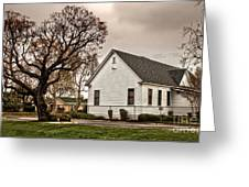 Chino Old School House - 02 Greeting Card by Gregory Dyer