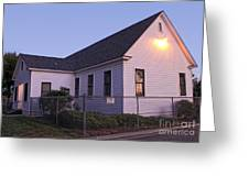 Chino Old School House - 05 Greeting Card by Gregory Dyer