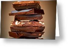 Chocolate Greeting Card by Elena Elisseeva