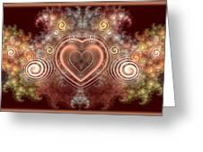Chocolate Heart Greeting Card by Svetlana Nikolova