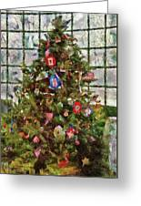 Christmas - An American Christmas Greeting Card by Mike Savad