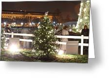 Christmas At The Ellipse - Washington Dc - 01132 Greeting Card by DC Photographer