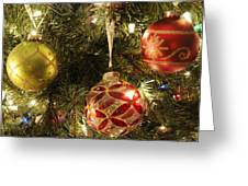 Christmas Cheer Greeting Card by Luke Moore
