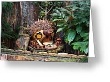 Christmas Display - Us Botanic Garden - 011322 Greeting Card by DC Photographer
