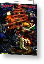 Christmas Greeting Card Greeting Card by Alessandro Della Pietra