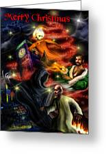 Christmas Greeting Card II Greeting Card by Alessandro Della Pietra