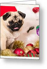 Christmas Morning Greeting Card by Edward Fielding