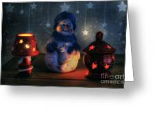 Christmas Ornaments Greeting Card by Ian Mitchell