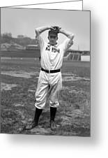 Christy Mathewson Wind Up Greeting Card by Retro Images Archive