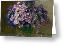 Chrysanthemums 2 Greeting Card by Vasiliy Agapov