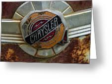 Chrysler Greeting Card by Jean Noren