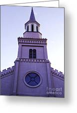 Church Greeting Card by Andrea Anderegg