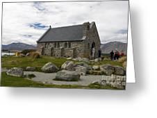 Church of the Good Shepherd Lake Tekapo New Zealand Greeting Card by Jason O Watson