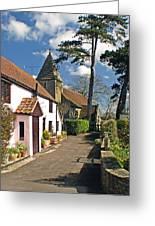 Church Path - Kenn - Somerset Greeting Card by Robert Down