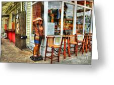 Cigars In Key West Greeting Card by Mel Steinhauer