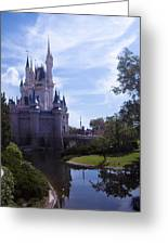 Cinderella Castle Greeting Card by Roger Wedegis