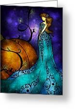 Cinderella Greeting Card by Mandie Manzano